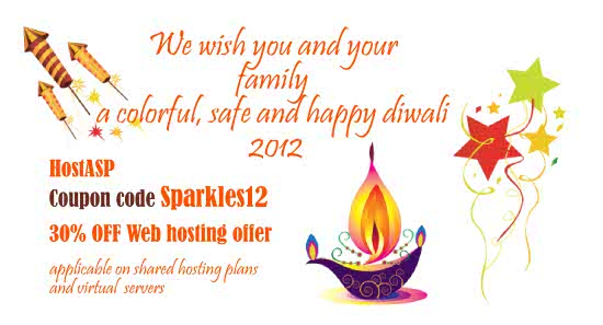 Web hosting Offer - Diwali celebrations